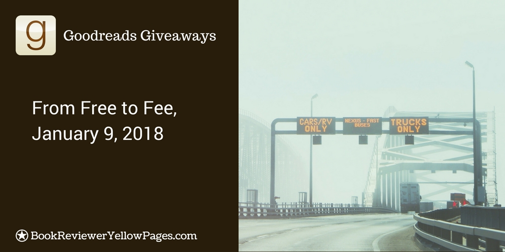 Goodreads Giveaway 2018-From Free to Fee