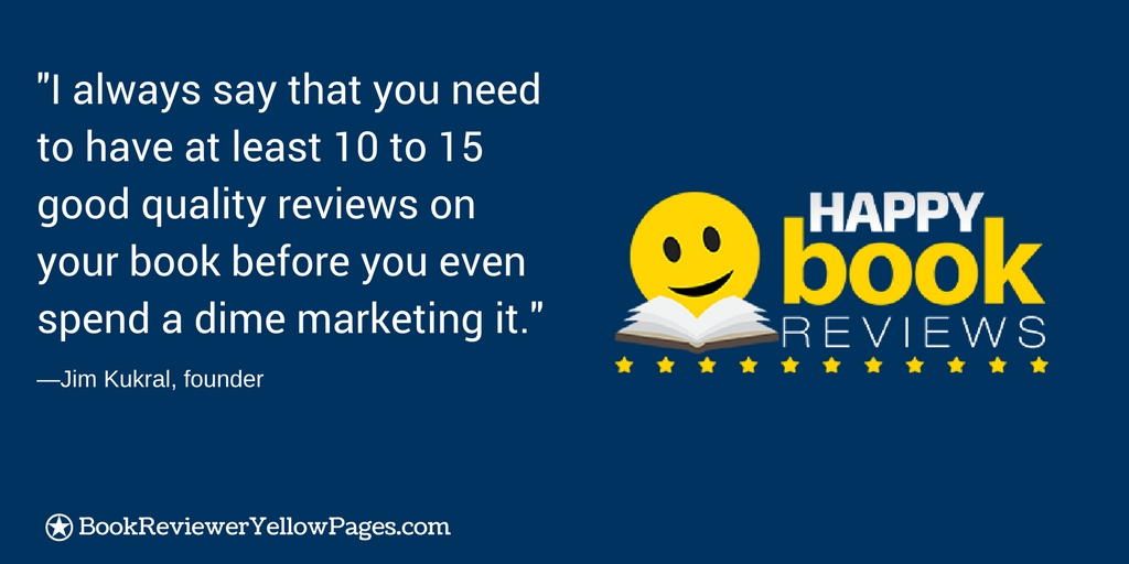 Happy Book Reviews, Jim Kukral, Author Marketing Club
